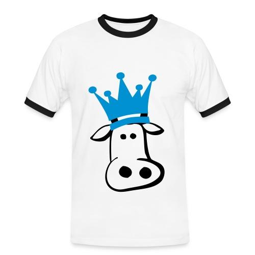 Kute King Kow - Men's Ringer Shirt