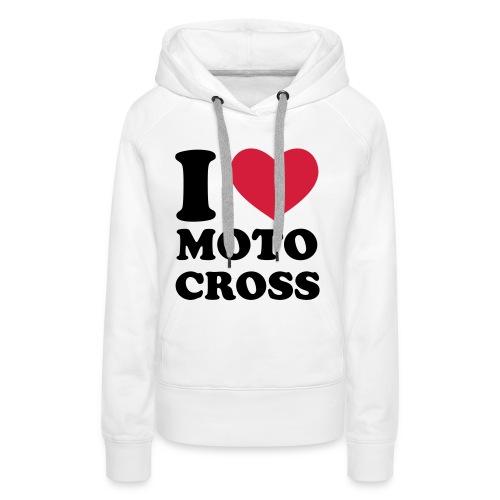 womens motocross hoodie - Women's Premium Hoodie