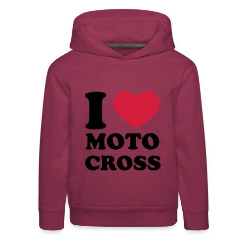 womens motocross hoodie - Kids' Premium Hoodie