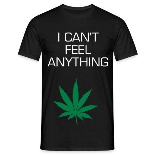 I Can't Feel Anything (Mens) - Men's T-Shirt