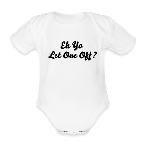 Eh Yo baby 1 piece - Organic Short-sleeved Baby Bodysuit