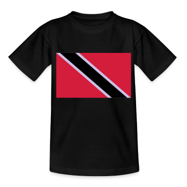 trinidad and tobago flag T-shirt bambini