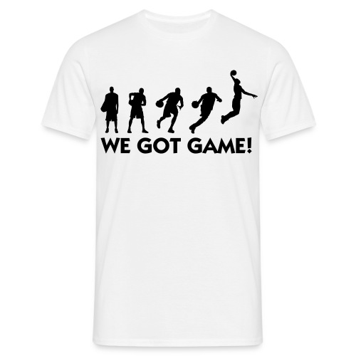 Got Game T-Shirt - Men's T-Shirt