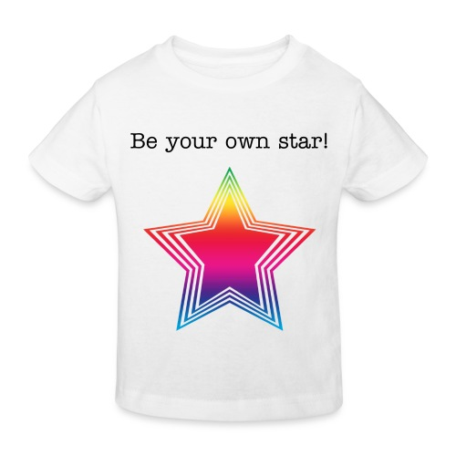 Kiddies Funky Star - Kids' Organic T-Shirt