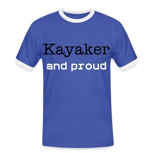 Classic kayaking-cheapest t shirt to show your passion - Men's Ringer Shirt