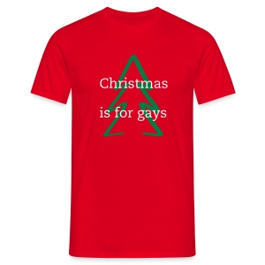 Gay as Christmas - Men's T-Shirt