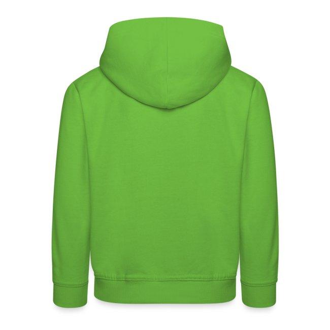 Hase Kapuzenpulli Grün Kids