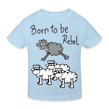 jumping sheep T-shirt bambini