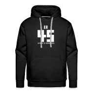 Hoodies & Sweatshirts ~ Men's Premium Hoodie ~ David Leatherhoff Hoodie (No stripes)