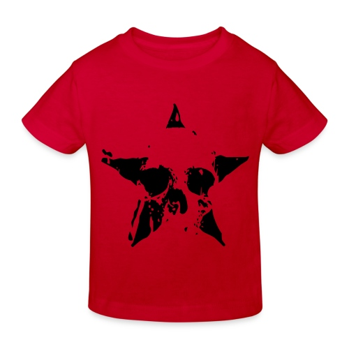Kiddies Skull Star - Kids' Organic T-Shirt