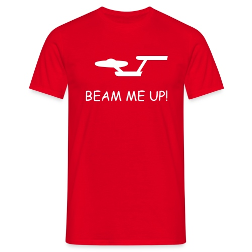 Beam Up T-Shirt - Men's T-Shirt