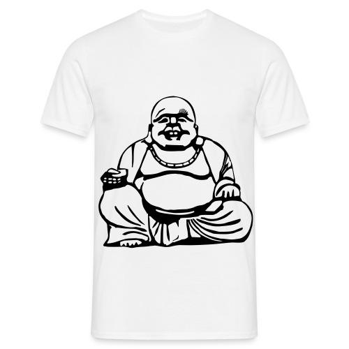 fat buddah  - Men's T-Shirt