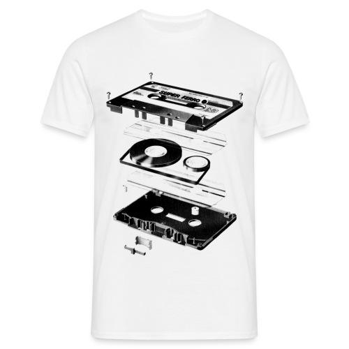 Old school music M - Männer T-Shirt