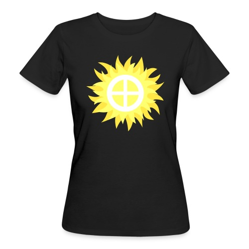 Solhjul Klimatneutral T-shirt dam - Ekologisk T-shirt dam