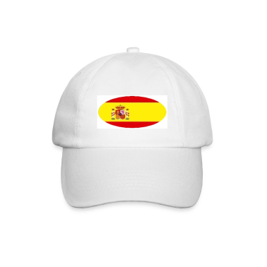 Basic Cap with Spain flag Logo