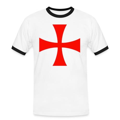 TEMPLARIUM / Camiseta bicolor - Camiseta contraste hombre