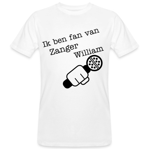 Fan van william  - Mannen Bio-T-shirt