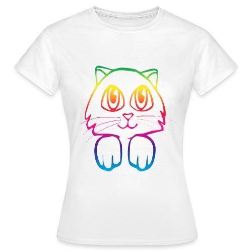 Rainbo Kitty - Women's T-Shirt