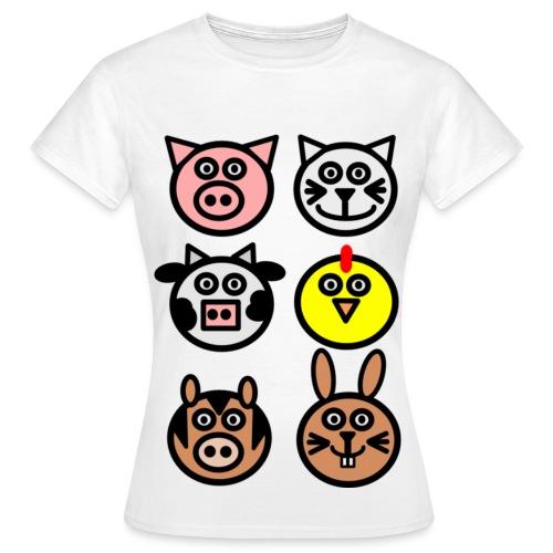 Veggie Kitty - Women's T-Shirt