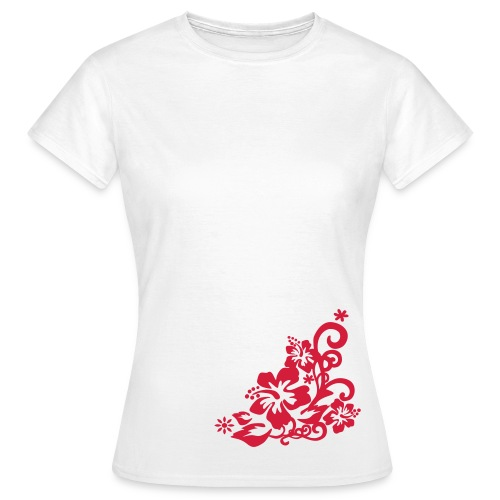Flowr right b - Women's T-Shirt