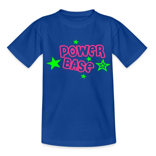 Kindershirt - Power Base - Teenager T-Shirt