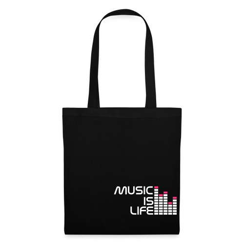 MUSIC IS LIFE2 - Torba materiałowa
