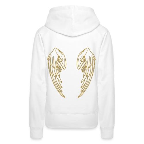 Womens Hoodie -  Wings - Women's Premium Hoodie