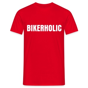 Bikerholic - Men's T-Shirt