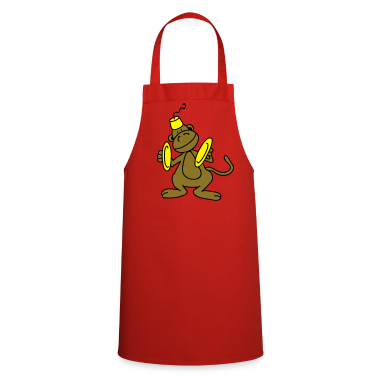Dancing monkey  Aprons