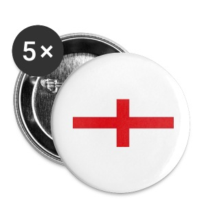 Buttons small 25 mm with England flag Logo - Buttons small 25 mm