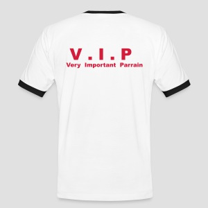 T-shirt Supporter Homme V.I.P - Very Important Parrain - T-shirt contraste Homme