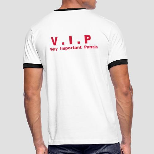 T-shirt Supporter Homme V.I.P - Very Important Parrain - T-shirt contrasté Homme