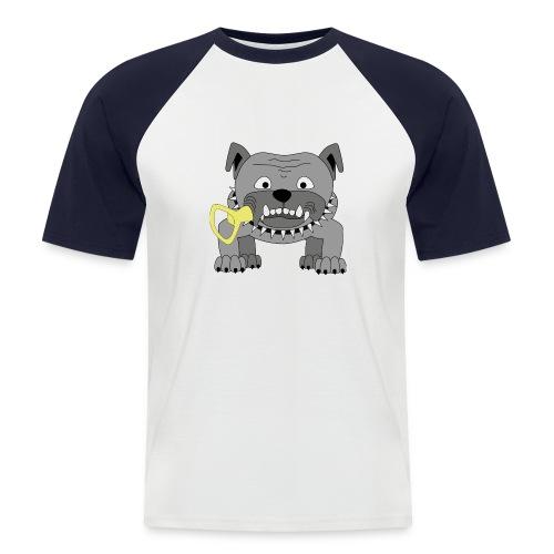Hundeköter Männer Baseballshirt - Männer Baseball-T-Shirt