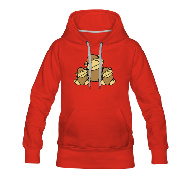 Three Monkeys Hoodies & Sweatshirts