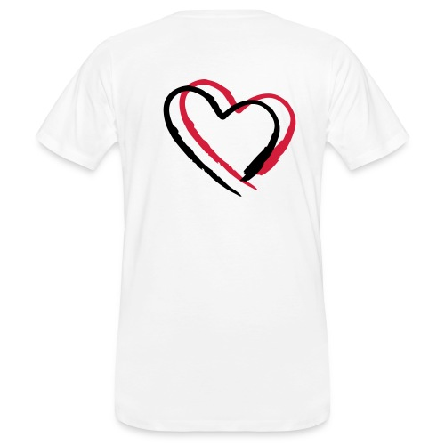 heart - Men's Organic T-shirt