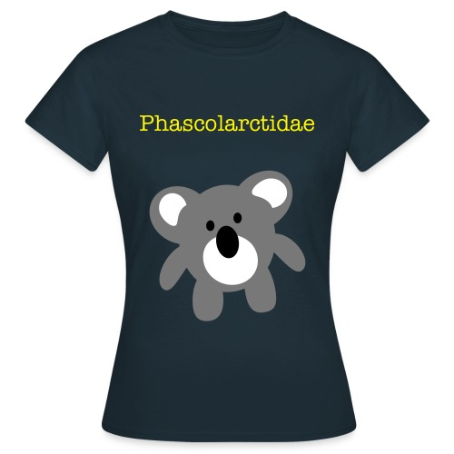 Phascolarctidae-navy - Women's T-Shirt