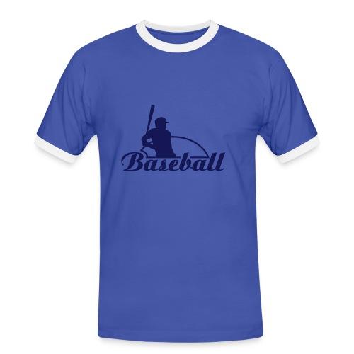 Tee-Shirt    Baseball - T-shirt contrasté Homme