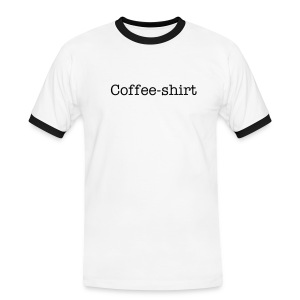 Coffe-Shirt - Men's Ringer Shirt