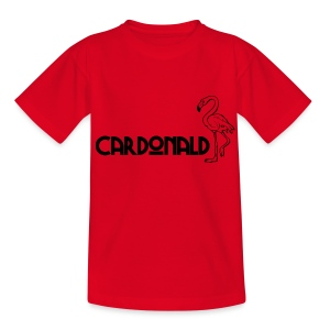 Cardonald Flamingo - Teenage T-shirt