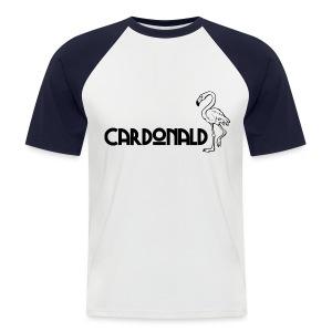 Cardonald Flamingo - Men's Baseball T-Shirt