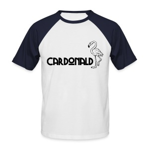 Cardonald Flamingo - Men's Baseball T-Shirt