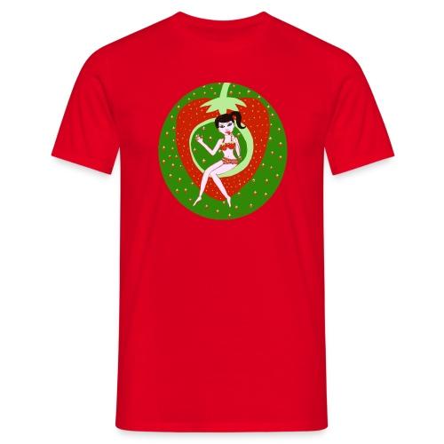 Strawberry Girl  - Männer T-Shirt