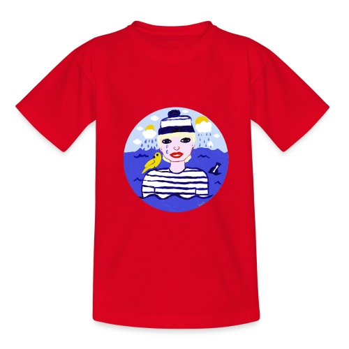 The sailor in love with the sea - Teenager T-Shirt