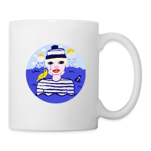 The sailor in love with the sea - Tasse