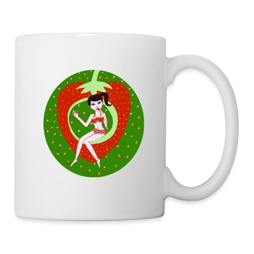 Strawberry Girl  - Tasse