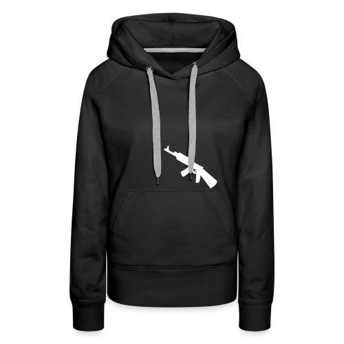 Pullover Misanthrop Menschenfeind Girls - Frauen Premium Hoodie