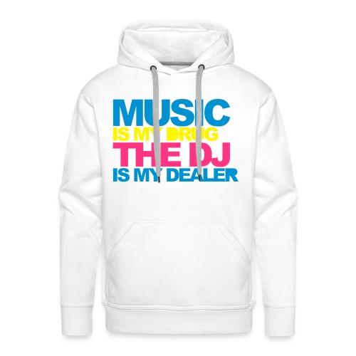 Music / DJ Hoodie - Men's Premium Hoodie