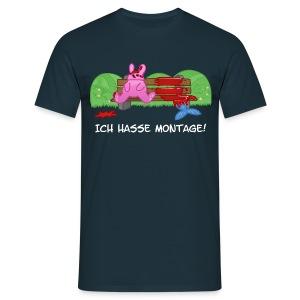 Ich hasse Montage! Boys - Männer T-Shirt