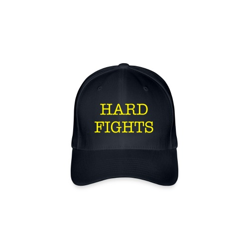 Blue Flexfit Baseball Cap HARD FIGHTS - Flexfit Baseball Cap