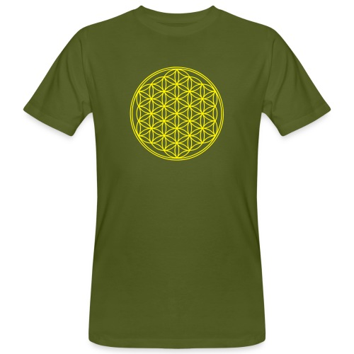 Flower Power  - Männer Bio-T-Shirt